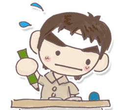 Junior high school students Musashi sticker #901379