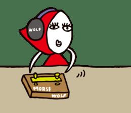 Zukin-chan sticker #901552