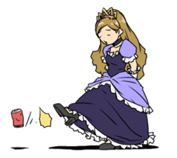 princess(International version) sticker #902331