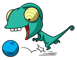 Chamelo the Chameleon sticker #904281