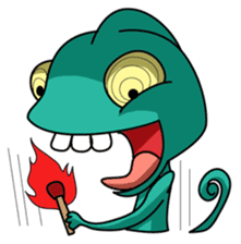 Chamelo the Chameleon sticker #904283