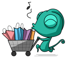 Chamelo the Chameleon sticker #904285