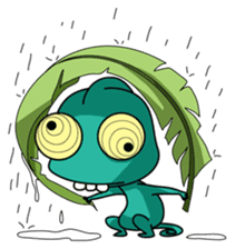 Chamelo the Chameleon sticker #904286