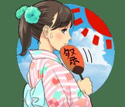 The KIMONO sticker sticker #907224