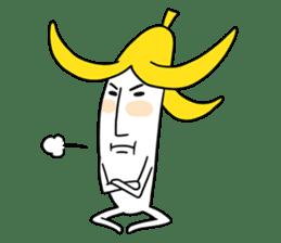 banana guy sticker #907879