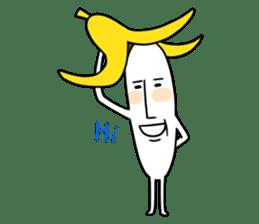 banana guy sticker #907880