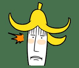 banana guy sticker #907887