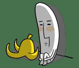 banana guy sticker #907891