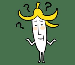 banana guy sticker #907895