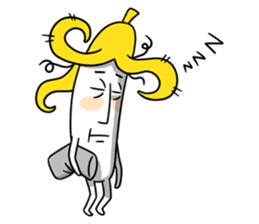 banana guy sticker #907898