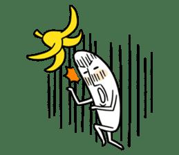 banana guy sticker #907900