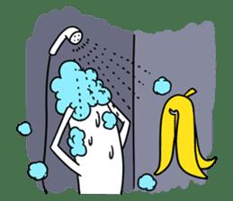 banana guy sticker #907914