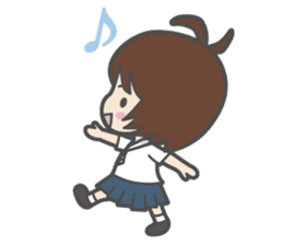 Sailor Girl NAOMI sticker #908687
