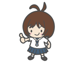 Sailor Girl NAOMI sticker #908691