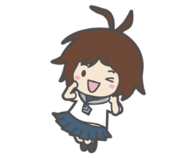 Sailor Girl NAOMI sticker #908703