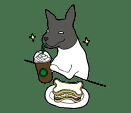 Japanese Terrier U-taro sticker #908931