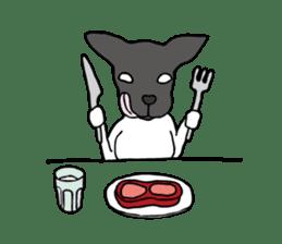Japanese Terrier U-taro sticker #908932
