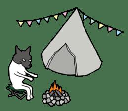 Japanese Terrier U-taro sticker #908948