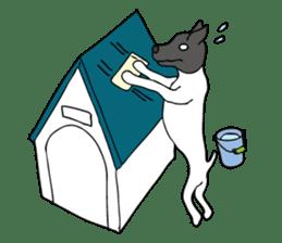 Japanese Terrier U-taro sticker #908956