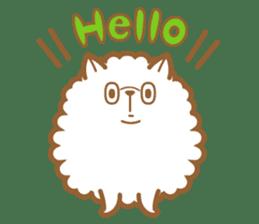 cotton candy dog sticker #909119