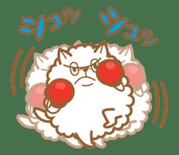 cotton candy dog sticker #909121