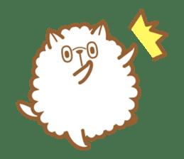 cotton candy dog sticker #909126