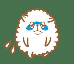 cotton candy dog sticker #909136