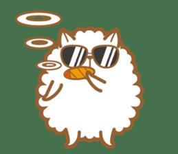cotton candy dog sticker #909138