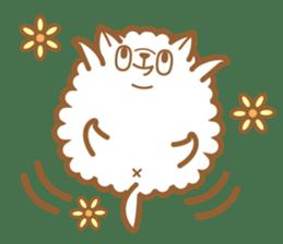 cotton candy dog sticker #909141