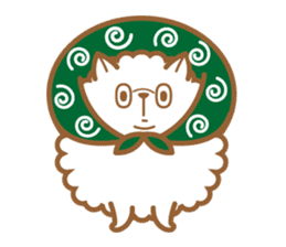 cotton candy dog sticker #909148