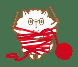 cotton candy dog sticker #909149