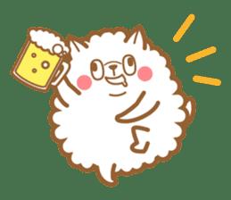 cotton candy dog sticker #909150