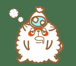 cotton candy dog sticker #909151