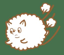 cotton candy dog sticker #909153