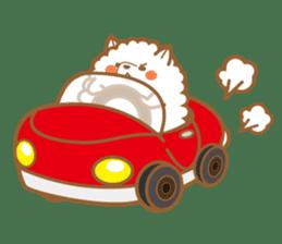 cotton candy dog sticker #909157