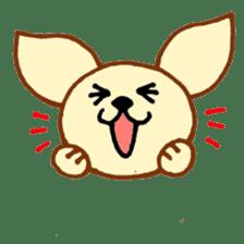 LOVE CHIHUAHUA sticker #909240