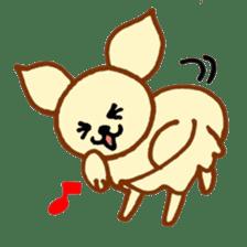 LOVE CHIHUAHUA sticker #909242