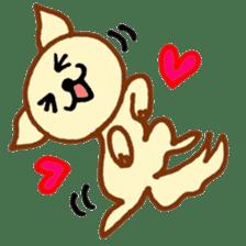 LOVE CHIHUAHUA sticker #909243