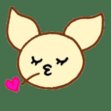 LOVE CHIHUAHUA sticker #909244