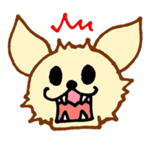 LOVE CHIHUAHUA sticker #909254