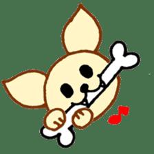 LOVE CHIHUAHUA sticker #909261