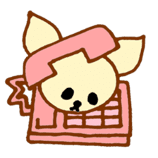 LOVE CHIHUAHUA sticker #909268