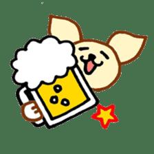 LOVE CHIHUAHUA sticker #909271