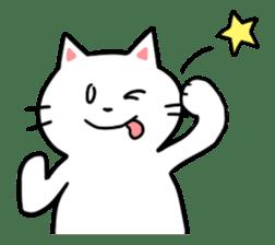Lovely cats sticker #909286