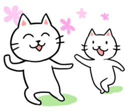 Lovely cats sticker #909297