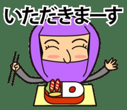 KUNOICHI ninja sticker #909722