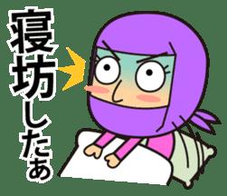 KUNOICHI ninja sticker #909740