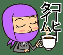 KUNOICHI ninja sticker #909741