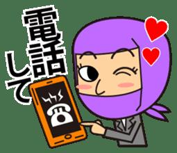 KUNOICHI ninja sticker #909746