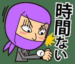KUNOICHI ninja sticker #909748